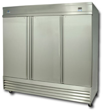 Ascend Refrigeration Reach Ins Merchandisers