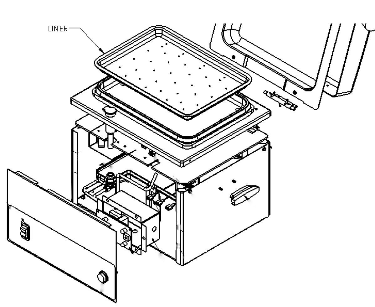 Nemco 6625B Fresh-O-Matic Steamer and Food Warmer