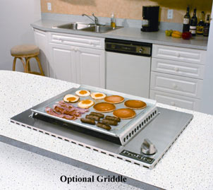 Optional Griddle Accessory. Profire Indoor Grill Installation ...
