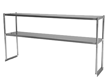 Stainless Steel Tables Work Tables Equipment Stands - Stainless steel table with backsplash and sides