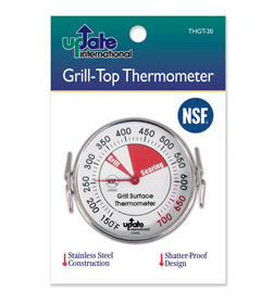 Griddle or Grill Surface Thermometers, 150-700 degrees F