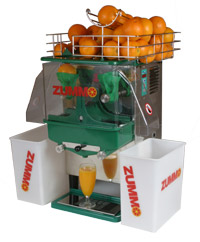 zummo orange juice machine