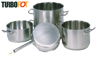 Stock Pots and Sauce Pans and Fry Pans from TurboPot
