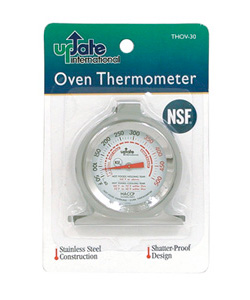 Oven Test Thermometer, NSF Certified for Commercial Use, Shatter Proof