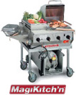 MagiCater Commercial Outdoor BBQ Grills