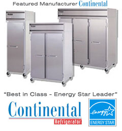 Best in Class Energy Star Refrigeration by Continental Refrigerator