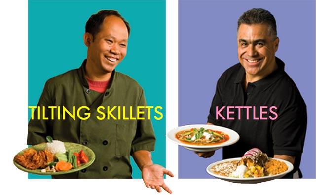 Tilting Skillets Braising Pans And Kettles For