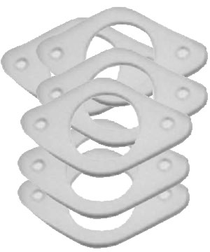 Burner Head Gaskets - Pack of 6