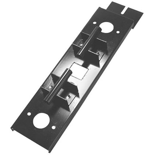 Mounting Plate for Burner Assembly (for DVOR-1486), Challenger, Open Top Assembly, square center-hole