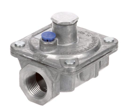 Pressure Regulator: Nat. Gas or Propane LP, 3/4 inch, for Residential models