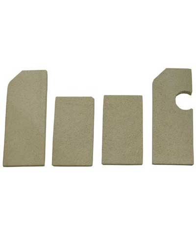 Ceramic Brick Set for Vulcan ovens, fits L, LC, LCC, MG12 etc.