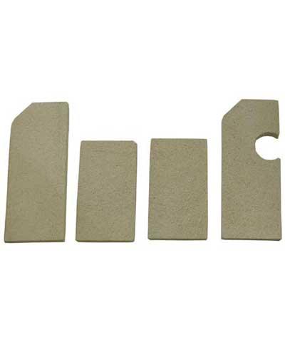 Ceramic Brick Set for Vulcan ovens, fits L, LC, LCC, MG12 etc.