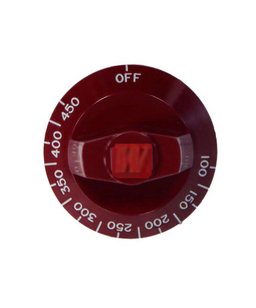 Knob, Griddle Thermostat Knob for Wolf Gourmet Residential Ranges A/AS series Griddle Sections