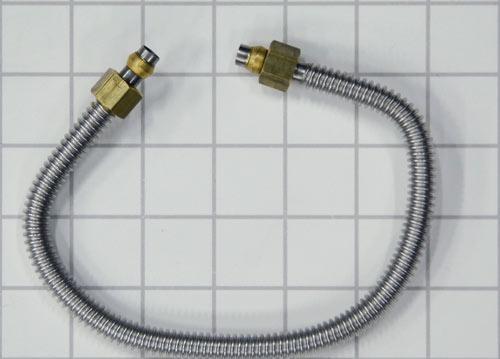 Tubing, flex tube for Rear Simmer, A/AS series Wolf Gourmet Residential Ranges, R series Wolf Appliance