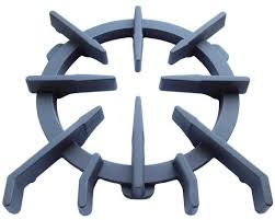 Grate, Spider Grate with flanges/tabs (Wolf Sub-Zero models, Wolf Gourmet)