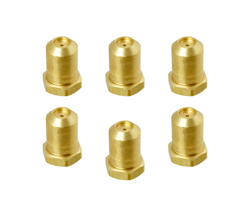 Orifice Jets for Griddle valve, natural gas, 6 pack